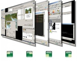 VirtuaWin - Multiple virtual desktops