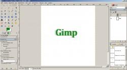gimp в работе