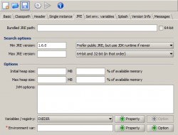 Launch4j Executable Wrapper